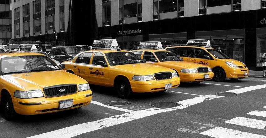 culture populaire les taxis jaunes de new york lec. Black Bedroom Furniture Sets. Home Design Ideas