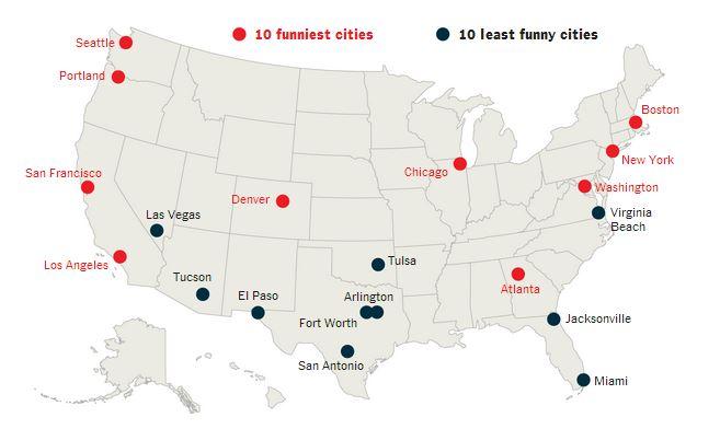 Carte Des Usa Villes Et Etats