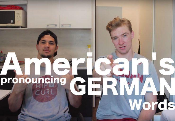 Séjour linguistique en Allemagne : 10 mots allemands que les Américains ne savent pas prononcer