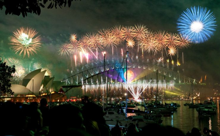 Séjour linguistique Australie : comment y fête-t-on le Nouvel An ?