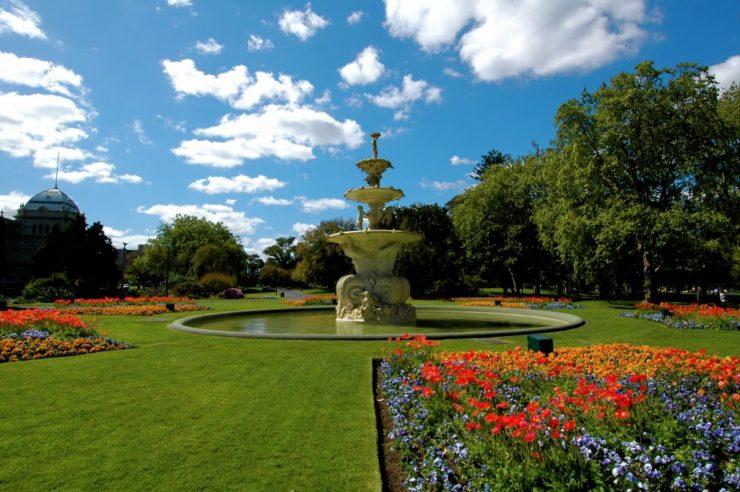 Voyage linguistique en Australie : le Palais royal des expositions et les jardins Carlton