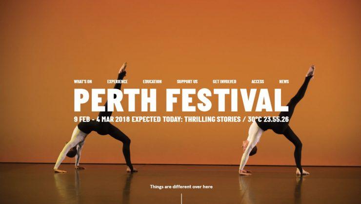 Séjour linguistique à Perth : le festival international des arts de la ville
